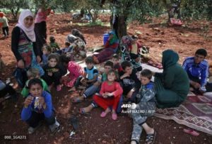 IDPs Displaced In Northern Syria Spikes