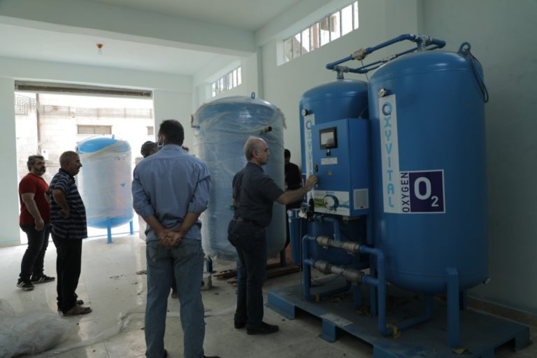 UOSSM Continues Response to COVID-19 By Providing Oxygen Generator to Area Hospital