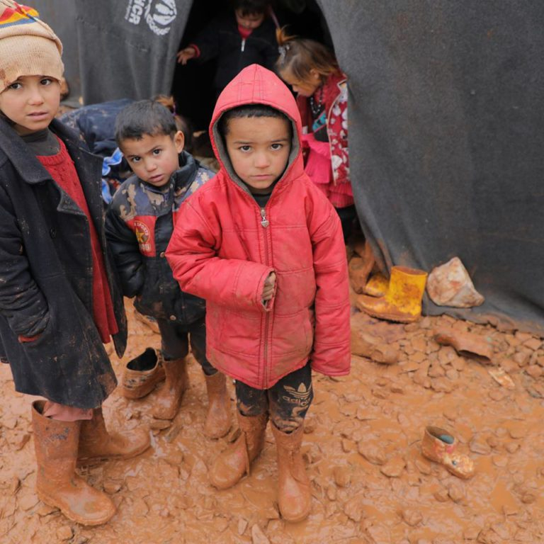 Children in the Syrian Refugee Crisis