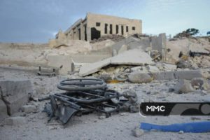 3 Hospitals Bombed Today in Syria