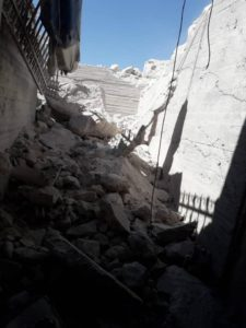 Surgical Hospital Hit By Airstrikes in Idlib, Syria