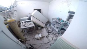 Telmnes Hospital Hit By Airstrikes Killing One Patient
